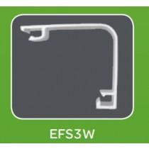 Mita EFS3W White UPVC Envoy Square Lid 3m