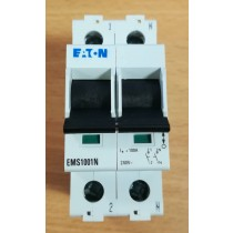 Eaton MEM EMS1001N EATON 100 AMP DOUBLE POLE MAIN SWITCH DISCONNECTOR ISOLATOR 100A 2P