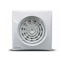 EnviroVent SIL100T Silent Extractor Fan 100mm Model comes with Backdraft Shutter and Adjustable Timer