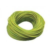 2.0mm PVC Sleeving ES2 Green/Yellow
