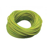 Norslo 5.0mm PVC Sleeving ES5 Green/Yellow