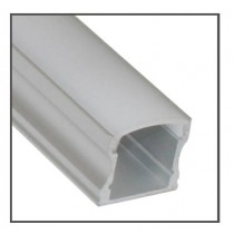 Power LED EXT2 Surface Mounted Flexible Tape Extrusion, 1000 x 17.3 x 14.5mm