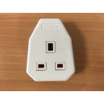 MK , FC133WHI Heavy Duty Trailing Sockets, 13 AMP, 13A Single Outlet, White