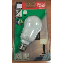 GE Lighting 9W, 220-240V, 50/60Hz, 70mA, B22, 2700K