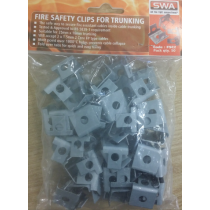SWA FSC2 Fire Safety Clips for Plastic Mini Trunking (pack of 50)