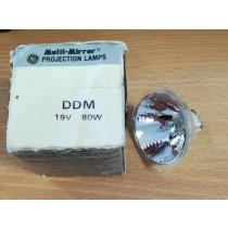 General Electric Quartzline DDM 19V 80W Bulb