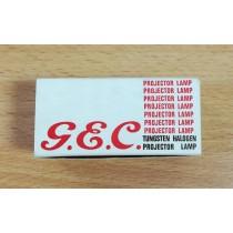 G.E.C. A1/235 250w 24v Projector Lamp Vintage Rare