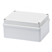 Gewiss GW44206 Junction Box with Plain Screwed Lid IP56, Internal Dimensions 150x110x70, Smooth Walls