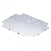 Gewiss GW44615 Back-Mounting Plate With Self-Tapping Fixing Screws for Boxes 190x140 in Galvanised Steel