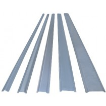 SC13M 13mm Steel Channel, 2m Galvanised