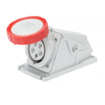 Gewiss GW62516, Socket, Low Voltage Watertight Surf 3P+N+E, Size: 32A 380V
