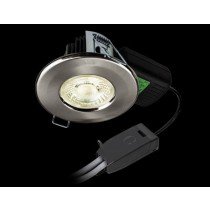 Collingwood DLT2425530 3000K H2 Pro 700 T Dimmable Fire-rated LED Downlight With T Connector