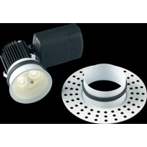 Collingwood Halers DL282WHWWDIM H5 500 Trimless Fire rated, Plaster in LED Downlight IP65 3000K