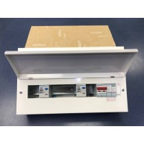 Hager VML910CUSPDRK 10 Way Hi Integrity 100A Switch 2*100A 30mA Type 2 SPD RKO, plus 8 MCBs free of charge