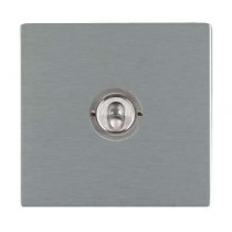 Hamilton Sheer CFX 84CT21 20A 1 Gang 2 Way Toggle Switch Satin Stainless
