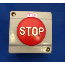 Eaton MEM 1CSUM Emergency Stop Button 50mm Head Metal Clad