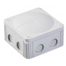 Wiska 10061778 Combi  607/5 Junction Box Inc. 5 Pole IP67, 41A Grey Polypropylene