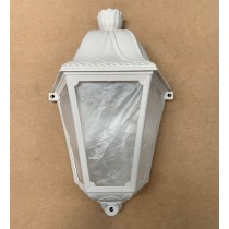 Fumagalli M28W Half Wall Large Florentine Lantern in White