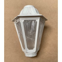 Fumagalli E26.W.GLA Medium Florentine Lantern in White