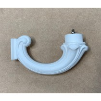 Fumagalli 132.SYS.W 132 System Bracket in White