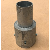 """Fumagalli SPIG 3"""" Spigot Adaptor - 60MM Steel"""