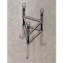Fumagalli HA.GAB.14.C 14MM Medium Cage in Black - Buy online or in store from John Cribb & Sons Ltd