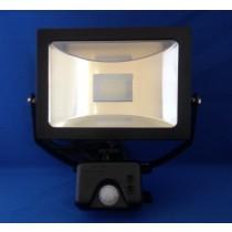 JCC Niteflood JC45121BLK LED Mains & PIR IP65 15W 120Deg 1100lm Floodlight 5700K Black