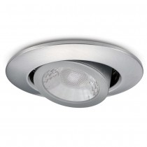 JCC JC1002/BN Fire-Rated V50 Tilt LED Downlight with Brushed Nickel Bezel - John Cribb & Sons Ltd