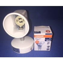 JCC JC13001WH Royal Royal HiSpot 50 single spotlight 50W IP20 GU10 White