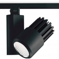 JCC JC14201BLK Starspot 3000, Spotlight, Mains Integral LED 4000K IP20, Size: 34W 28Deg, BLACK
