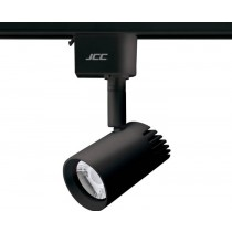 JCC JC14222BLK, Starspot 600 Mains Dimmable IP20 Track Spotlight LED 7W 3000K 580lm 36° Black