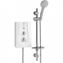 Bristan JOYT385 W Joy Thermostatic 8.5kw Electric Shower White -Buy online or in store from John Cribb & Sons Ltd