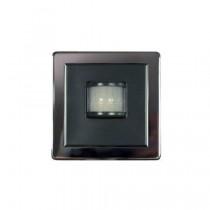 Megaman LightwaveRF JSJSLW107BLK Passive Infra-Red Sensor, Black Chrome