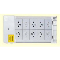 MK K4206 Distribution Unit, 6 Gang 4 Pin Socket