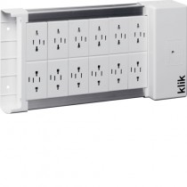 Hager KLDS12 12 Way klik Lighting Distribution Unit