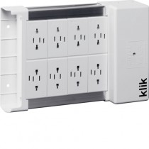 Hager KLDS8 8 Way klik Lighting Distribution Unit
