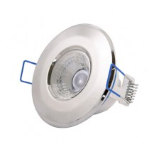 Scolmore Inceptor LED5400CH5WD Downlight, Inceptor Nano5 Fixed W/W LED, Dimmable, Size: 4.8W 230V (Chrome)