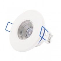 Scolmore Inceptor LED5400WH5CD Downlight, Inceptor Nano5 Fixed W/W LED, Dimmable, Size: 4.8W 230V (White, Cool White)
