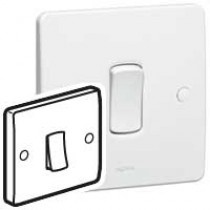 Legrand Synergy 730000 Single Pole Switch 1 Gang 1 Way 10AX 250V