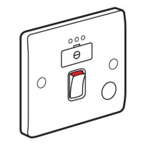 Legrand Synergy 730037 Connection Unit, DP Switched Fused c/w Neon & FO