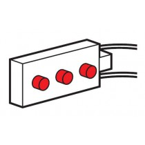 Legrand Synergy 730058 Red LED Power Indicator Pack