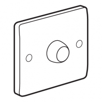 Legrand Synergy 730156 1 Gang 2 Way 400W Push On/Off Dimmer
