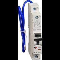 Lewden RCBO-10/30/SP 10A 30mA 1 Module Blue Lead RCBO