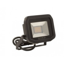 Luceco LFS18B130-02, BG 22W LED FLOOD 3000K BLACK, SLIMLINE GUARDIAN FLOODLIGHTS