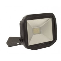 Luceco LFS30B130-02, BG 38W LED FLOOD 3000K BLACK, SLIMLINE GUARDIAN FLOODLIGHTS