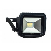 Luceco LFS6B130-02, BG 8W LED FLOOD 3000K BLACK, SLIMLINE GUARDIAN FLOODLIGHTS