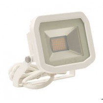 Luceco LFSP12W13-02, BG 15W LED PIR FLOOD 3000K WHITE, Slimline Floodlights with PIR