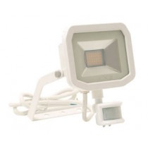 Luceco LFSP18W150-02, BG 22W LED PIR FLOOD 5000K WHITE, Slimline Floodlights with PIR