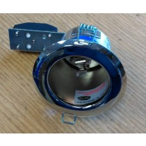SCOLMORE LV415CH 12v MR16 Fire Rated Fixed downlights Polished Chrome 65mm cut