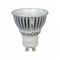 Megaman 141435 6W GU10 dimming PAR16 lookalike LED 240V - Cool White (35°) (141435)  [image © Megaman UK Limited]